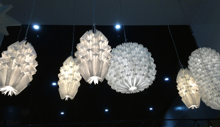Folded Light Art at Asia Talents exhibition