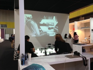 Video promotion of Folded Light Art at Asia Talents exhibition