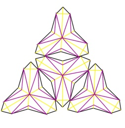 Four unit drawings. Student: Julia Gilstrap