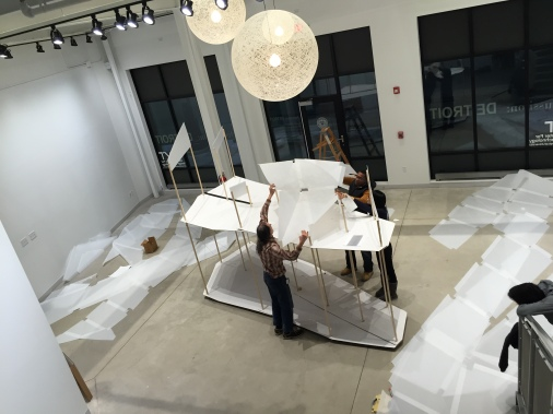 Installation of RIS 2017, Detroit